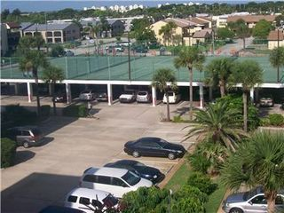 Cape Canaveral condo photo - Tennis Courts and Parking