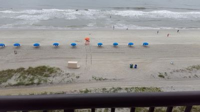 Oceanfront 2 BR #704, Sleeps 8, 60 LED TV, 2 Balconies OF, Umbrella & Chairs