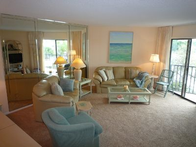 Siesta Key condo rental - living room