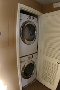 New full-sized LG Front Loading Washer and Dryer!