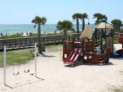 Playground at public beach - 1/4 mile walk from beach house