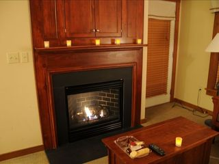Snuggle up by the Fire after a day of Skiing - Snowshoe Mountain condo vacation rental photo