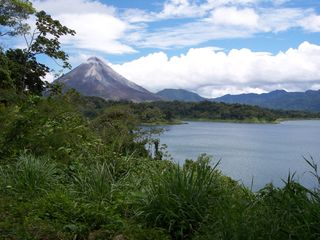 Nuevo Arenal estate photo - Volcano Arenal....Yes, It's Active!