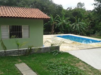Santa Isabel holiday chácara / sítio with pool and games room