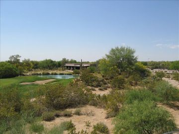 VIEW OF GRAYHAWK DRIVING RANGE/PRACtTICE FACILITY FROM SOUTH DECK