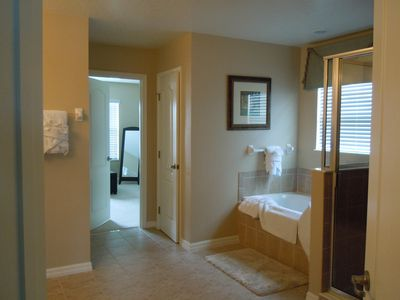 Master Suite Bathroom leading to Dressing Closet