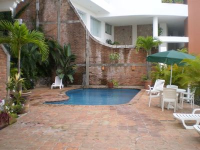 Pool-private for use of condo building only (7 units)