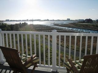 Vacation Homes in Ocean City townhome photo - Enjoy a Private Sunset!