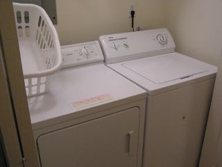 Tybee Island condo photo - Washer/Dryer
