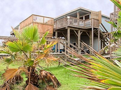 """Island Time"" beach house on middle beach with private in-deck pool"