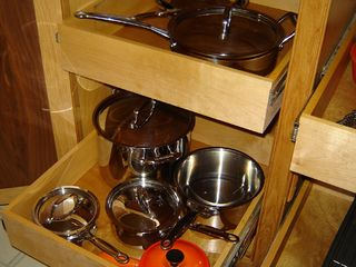 Woodstock house photo - Pots, pans, and more for any good cook's needs