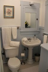 Tucson bungalow photo - Charming Vintage Bathroom Lovingly restored