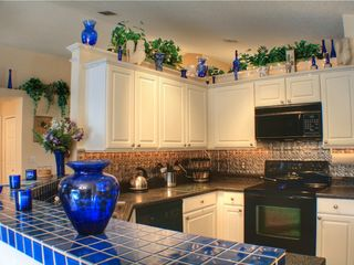 Sunridge Woods villa photo - Fully equipped kitchen with large counter space + new appliances