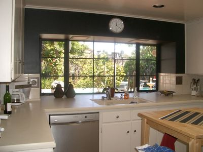 Palo Alto house rental - View from the Kitchen