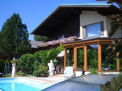 Comfortable quiet holiday home with 4 bedrooms and a swimming pool in Altenmarkt