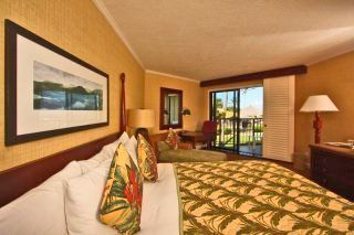 View of room with kingsized bed - Lihue hotel vacation rental photo