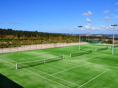 Tennis at Bom Sucesso Design Resort - 5 mins away