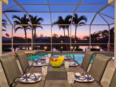 Cape Coral Sunset Paradise will take your breath away with stunning sunsets