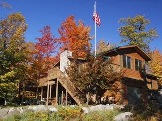 Pine Lake lodge photo - Lodge in Autumn