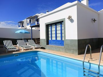 Playa Blanca villa rental - Villa Acomari with private heated pool