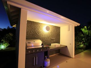 Terres Basses villa photo - bbq