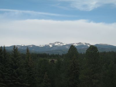 Wheeler Peak NE of Angel Fire