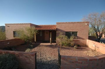 Tucson house rental - Front view - 1,600 square feet - 4 bedrooms - 3 baths