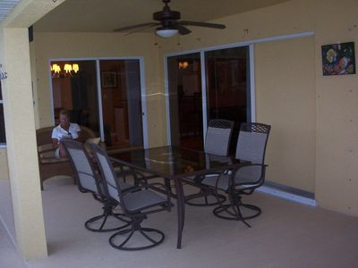 Large screened in lanai