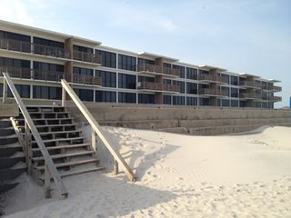 North Padre Island condo photo - Beach access right out front.