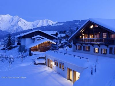 To Rent on the Combloux Ski Runs, Magnificent Farm For 10 People