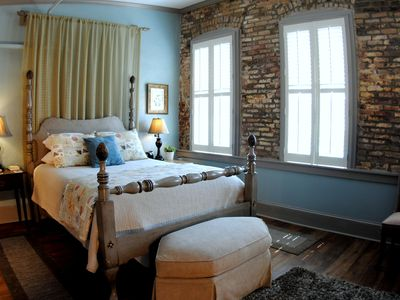 Romantic Suite overlooking the 200 year old City Market.