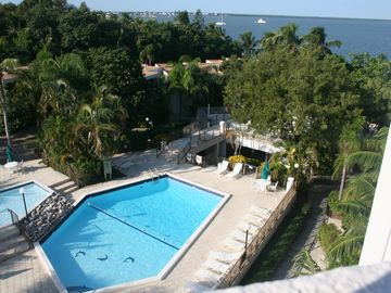 Key Largo condo rental - View from the living room, 3rd bedroom and patio