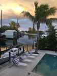 Recently renovated Old Florida house on Boca Grande:boat slips heated pool porch