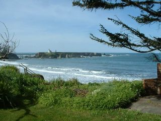 Coos Bay house photo - Cape Arago Lighthouse and Point Greogory.