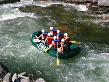 Rafting on the Galatin River