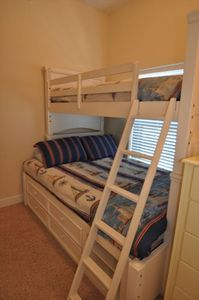 Bedroom Suite # 4 With Double  Bunks
