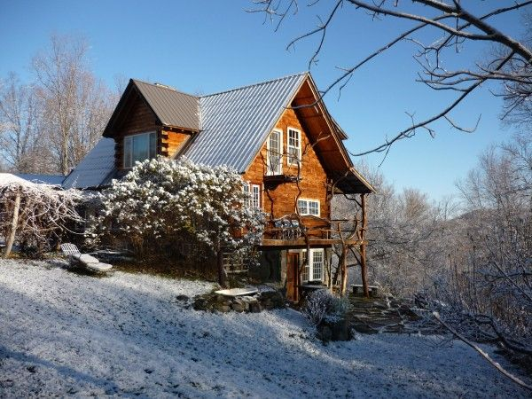 Private And Artistic Log Cabin Bring Your Vrbo
