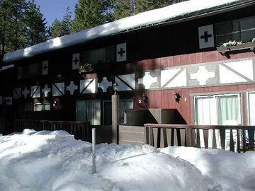Tahoe Valley condo rental - Exterior - Winter