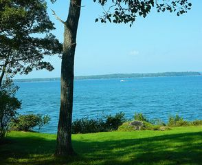 On a clear day you'll be able to see Mt. Washington. - Harpswell cottage vacation rental photo