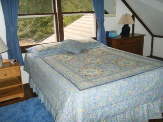 Newfound Lake chalet photo - Guest Bedroom, queen, 2nd floor