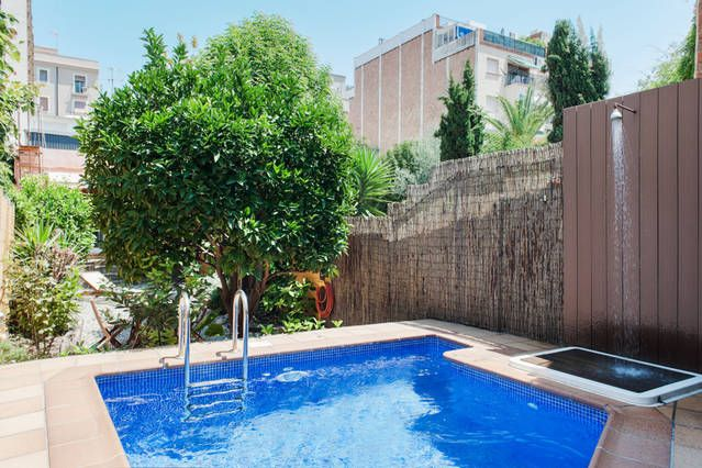 LOFT 83M2 IN CITY BARCELONA WITH: POOL + GARDEN 50M2 (ALL PRIVATE)