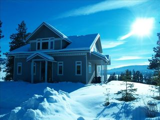 Curlew Lake house photo - Winter wonderland