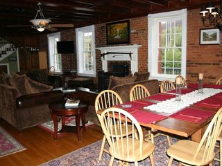 Harpers Ferry house photo - Living Room Dining Room