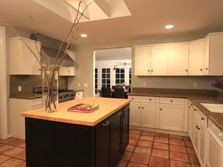 Malibu house photo - Fully appointed island kitchen with top-of-the line appliances.