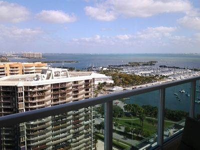Coconut Grove condo rental - Step out to the balcony and check out this amazing view