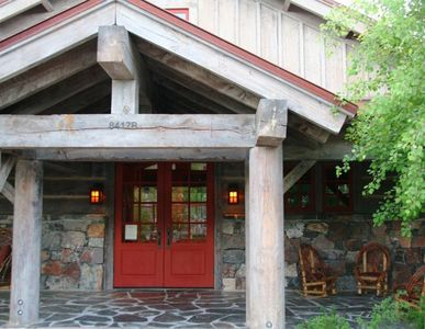 "Promontory house rental - Promontory's""Outfitters Cabin"" ~ Mnt. bikes, XCntry skis, fishing gear, etc."