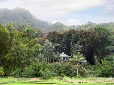 Nestled in the lush Wainiha River Valley
