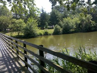 Rehoboth Beach house photo - Foot bridge next to park. Kids love to feed the turtles and fish