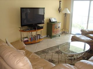 Redington Shores condo photo - New 55' Big Screen TV.
