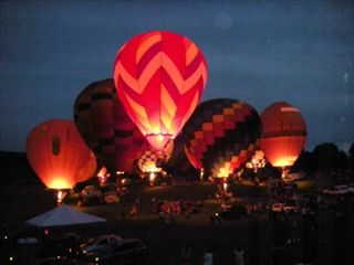 Galena townhome photo - Balloon Weekend